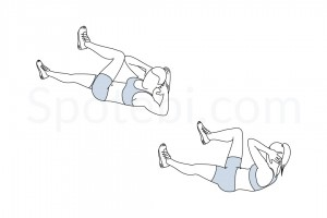 bicycle-crunches-exercise-illustration