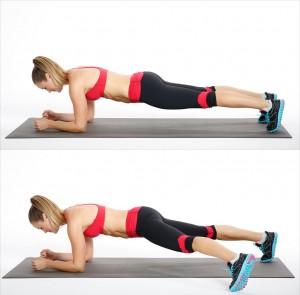 Plank-Side-Step