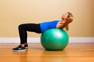 upper-abs-crunches-exercise-ball