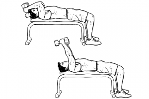 Lying-Tricep-Extension