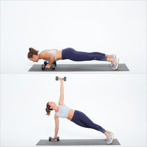 Push-Up-Rotate