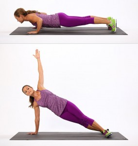 Push-Up-Side-Plank