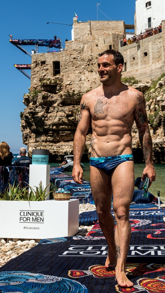 Clinique at Red Bull Cliff Diving