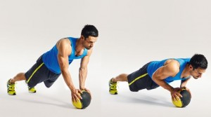 medicine-ball-push-up